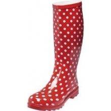 Playshoes gumáky holínky s puntíky červené c50633b5ccc