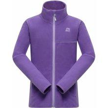 Alpine Pro Golfiero dětská mikina KSWH016887 bordó fialová