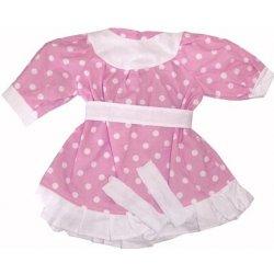 Výbavička pro panenky Hamiro Oblečení pro panenky 60cm šaty různé varianty a barvy