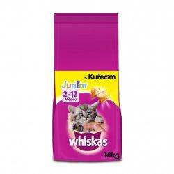 Whiskas granule s kuřecím pro koťata 14kg