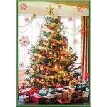 Pohlednice vánoční stromeček; text