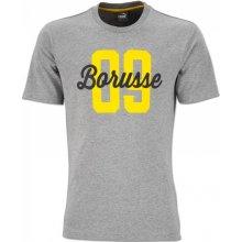 0619c0da8b2 Puma pánské tričko Borussia Dortmund šedé