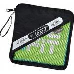 LIFEFIT rychleschnoucí ručník z mikrovlákna 35x70cm, zelený 4891223122374