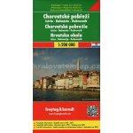 Freytag & Berndt Chorvatské pobřeží Istrie Dalmácie Dubrovník 1:200 000 automapa