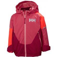 Helly Hansen K Rider ins jacket dětská zimní bunda goji berry 2a96d0f6af