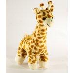 Žirafa plyš stojící asst 3 barvy 30 cm