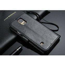Pouzdro Faddist Samsung Galaxy S5 imitace kůže Černé