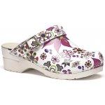 Pracovní obuv dámská vzor květina FlexiKlog Toffeln