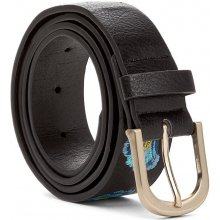 Desigual pásek Embroidered Belt Car negro