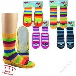 SOCKS 4 FUN 3140 dětské ponožky s koženou podrážkou - Nejlepší Ceny.cz 91fcac143e