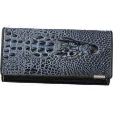 Loren Dámská kožená peněženka velká černá 72033 RS Black baac982b49