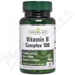 Natures Aid Vitamín B Complex Mega 100mg 30 tablet