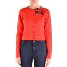 da83074b7db Boutique Moschino Svetry   Svetry se zapínáním Woman Cardigan Červená