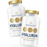 WoldoHealth Kyselina hyaluronová s kolagenem biotin a zinkem 180 cps.