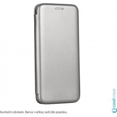 Pouzdro Forcell Elegance Huawei Y6 Prime 2018 / Honor 7A stříbrné