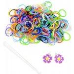 Loom Bands gumičky 200ks - barevný voňavý mix
