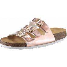 Brütting Pantofle růžová/barva zlata
