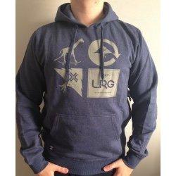 Pánská mikina LRG RC Logo Mash Pullover Hooded Fleece Navy 7e0a0c41112