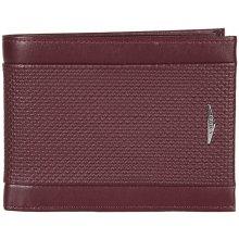 GIUDI pánská červená kožená peněženka 7432