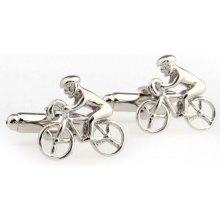 Knoflickarna.CZ manžetové knoflíčky Bikes 0148