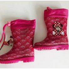 Setino dívčí gumáky/holínky Minnie růžové