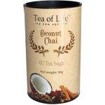 Tea of Life černý čaj kokosový Coconut Chai sáčkový 60 ks