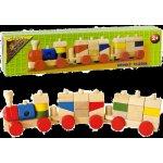 Vlak dřevěný malý