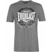 Everlast Laurel T Shirt Mens Grey Marl