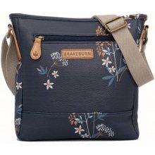 1634a50e78 Brakeburn dámská kabelka modrá s květinami