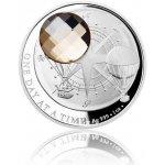 Česká mincovna Stříbrná mince CRYSTAL COIN One Day at a Time Honey proof 31,1 g