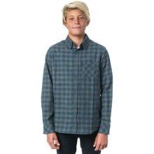 Košile Ripcurl BASIC HEATHER CHECK BOY Midnight Navy 4a4f929c0b6