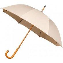 Dámský holový deštník MISTRAL béžový