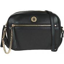 fb14c84ffe Tommy Hilfiger kabelky s dlouhým popruhem CORE NYLON CROSSOVER Černá