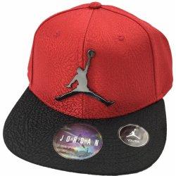 Air Jordan chlapecká čepice červená černá   Černá alternativy ... 7b495b17879