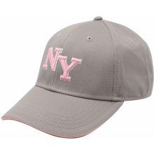 No Fear NY Cap Lds 40 Grey/Pink Dámské