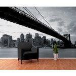1Wall Tapeta NY a Brooklynský most 315x232 cm