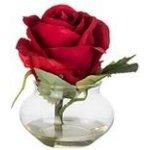 Růže ve vázičce SIA červená - SIA