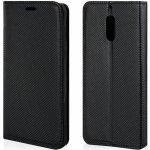 Pouzdro Ego mobile na Nokia 3 - Flip case magnet černé