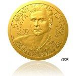 Česká mincovna Zlatá čtvrtuncová mince Legendy čs. hokeje Vladimír Růžička proof 7,78 g