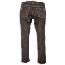 Matix jeansy MINER DENIM PANT black raw
