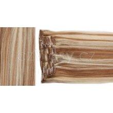czVlasy.cz Clip in vlasy odstín 12/613 S: Základní sada - délka 50 cm, hmotnost 100 g