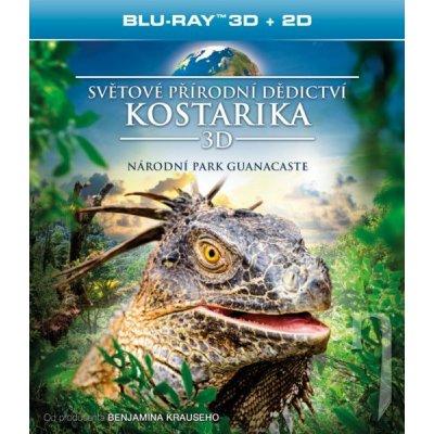 Světové přírodní dědictví: Kostarika - Národní park Guanacaste 3D Blu-ray
