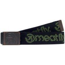 Meatfly Pásek Fusion Belt C - Green