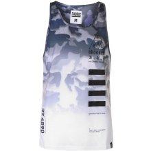 Fabric Camo Vest White