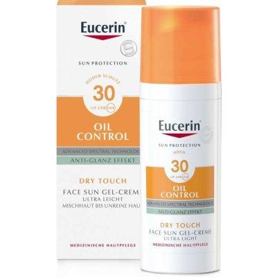 Eucerin Sun Oil Control ochranný krémový gel na obličej SPF 30 50 ml