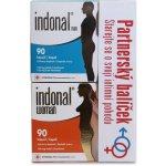 Synergia Indonal Woman 90 kapslí + Indonal Man 90 kapslí