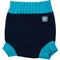 Kojenecké plavky Plavky Happy - Nappy modrá laguna 15edfceec5