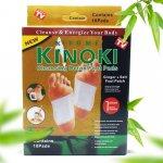 Kinoki DT056 Detoxikační náplasti Gold zázvor + sůl 1 balení