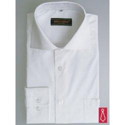 Pánská Košile Bílá svatební košile Beytnur klasika 7714cdefd9