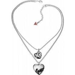 c4dcd34d1 Dámský náhrdelník GUESS UBN81039 s přívěsky srdce alternativy ...